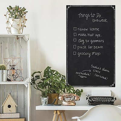 CHALKBOARD PEEL & STICK WALLPAPER