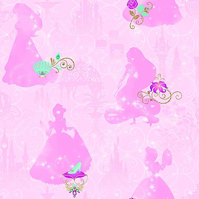 DISNEY PRINCESS PEEL & STICK WALLPAPER