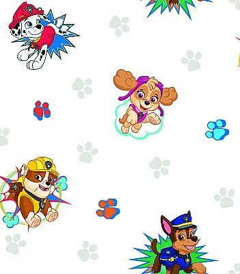 PAW PATROL PEEL & STICK WALLPAPER