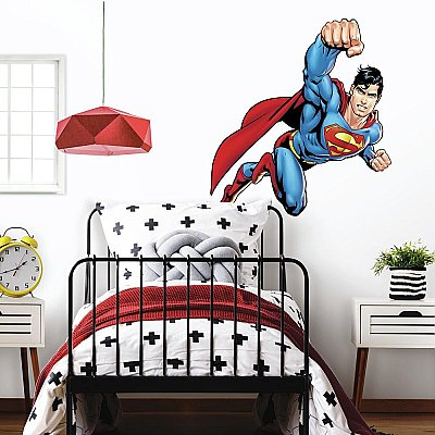 SUPERMAN-DAY OF DOOM PEEL & STICK GIANT WALL DECAL