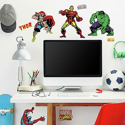 Marvel Character Wall Decals