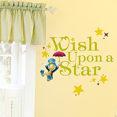 WISH UPON A STAR PEEL AND STICK WALL DECALS