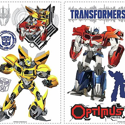 TRANSFORMERS AUTOBOTS PEEL AND STICK WALL DECALS