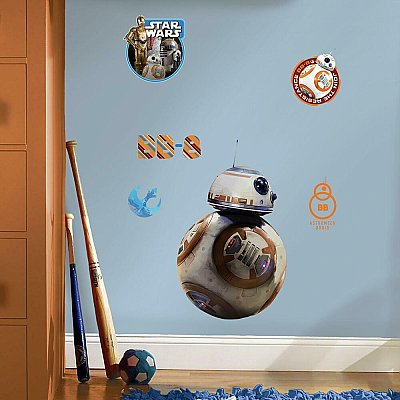 Star Wars Episode V11 Bb-8 Giant Wall Decals