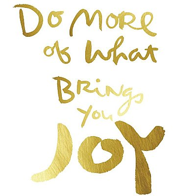 KATHY DAVIS BRINGS JOY GOLD FOIL PEEL AND STICK WALL DECALS