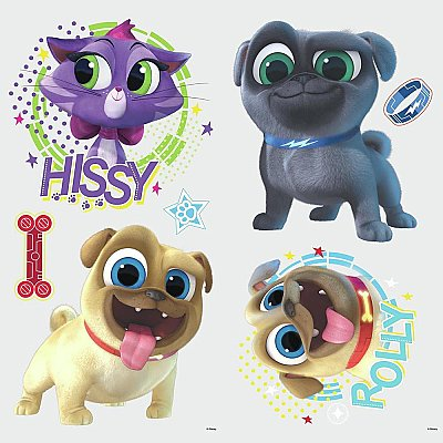 PUPPY DOG PALS PEEL AND STICK WALL DECALS