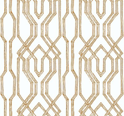 Oriental Lattice Wallpaper