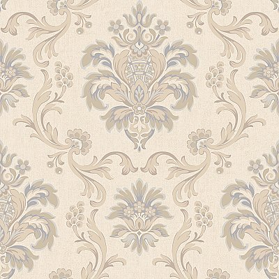 Arlington Bohemian Damask Wallpaper