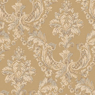Arlington Gilded Damask Wallpaper