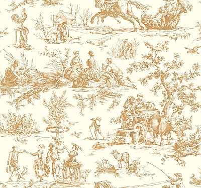 Ashford Toiles Seasons Toile Wallpaper