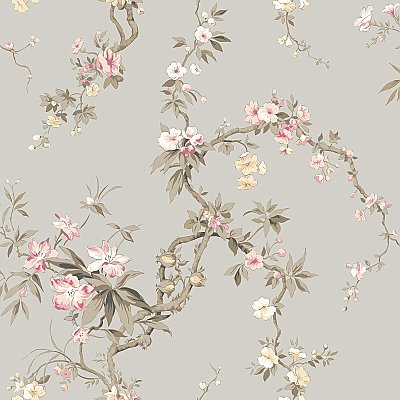 Oriental Blossoms Wallpaper