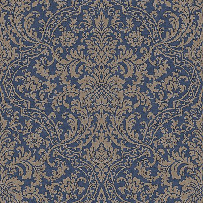 Decorous Damask Wallpaper
