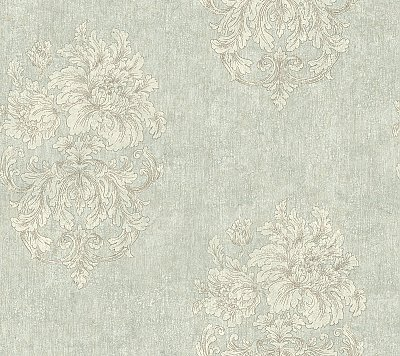 Ornamental Outline Wallpaper