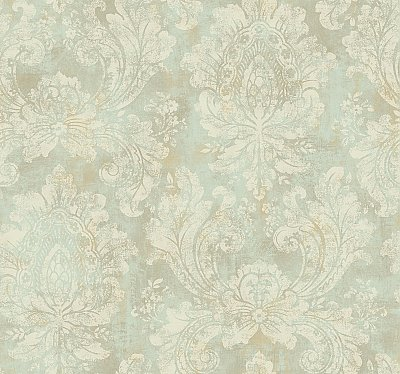 Traditional Damask Wallpaper