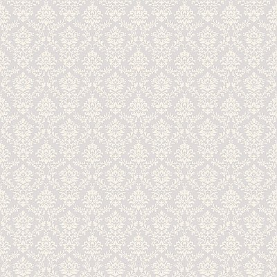 Flowred Damask Wallpaper