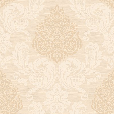 Silky Damask Wallpaper
