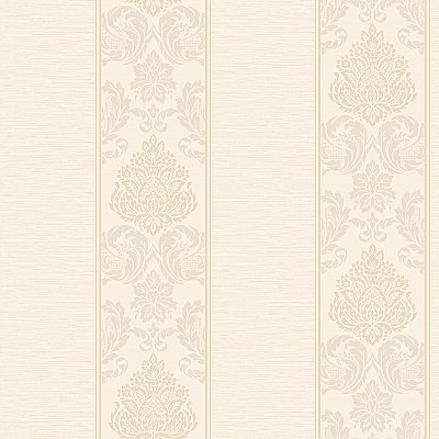 Silky Damask Stripe Wallpaper