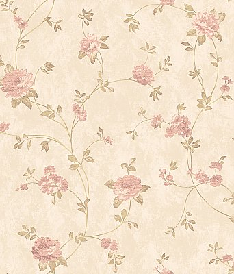 Floral Vine Wallpaper