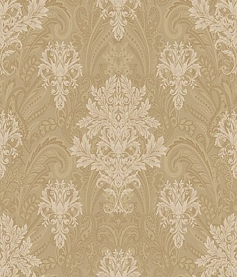 Damask Paisley Wallpaper
