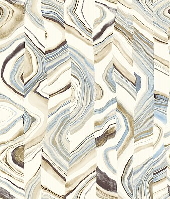 Agate Stripe Wallpaper