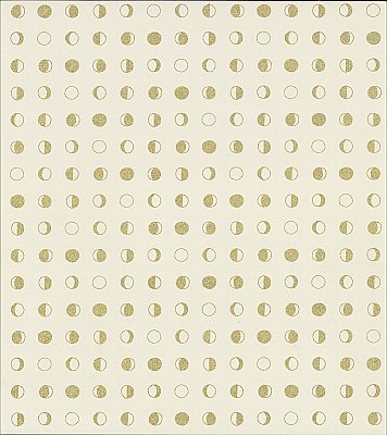 Lunar Wallpaper - Cream/Gold