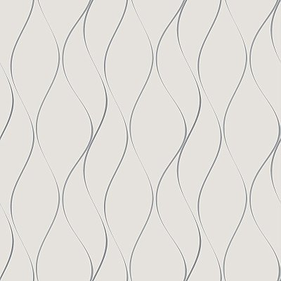 Wavy Stripe Wallpaper