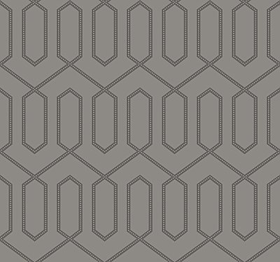 Dotted Trellis Wallpaper