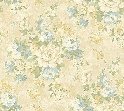 Painterly Bouquet Wallpaper