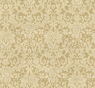 Floral Damask Wallpaper