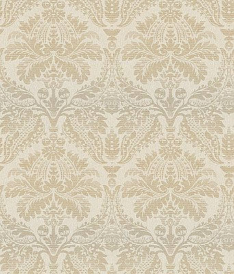 Linear Damask Wallpaper