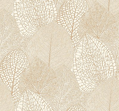 Seasons Wallpaper - Gold/White