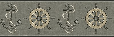 Nautical Spot Border