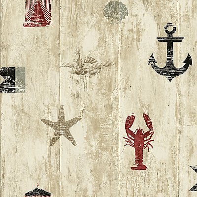 Weathered Seashore Wallpaper