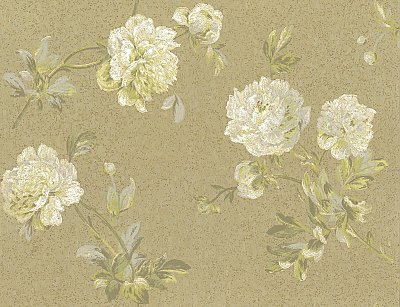 Whitworth Peony Wallpaper