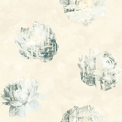 Double Exposure Removable Wallpaper