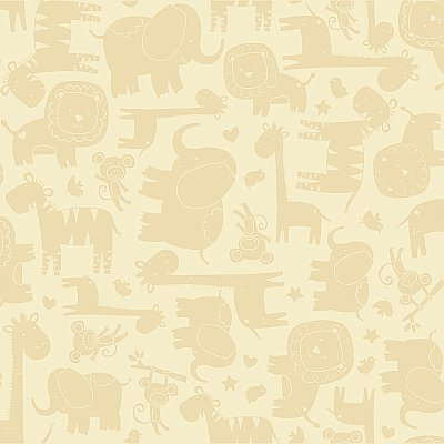 Baby Safari Wallpaper