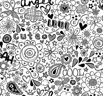 Doodlerific Wallpaper
