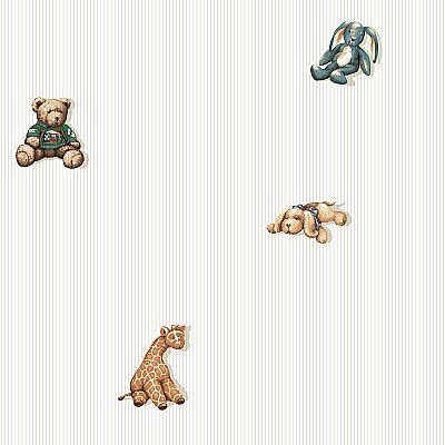 Stuffed Animal Spot Wallpaper