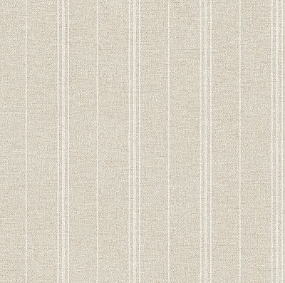 Grain Sack Stripe Wallpaper