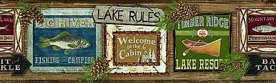 Lake Rules Border
