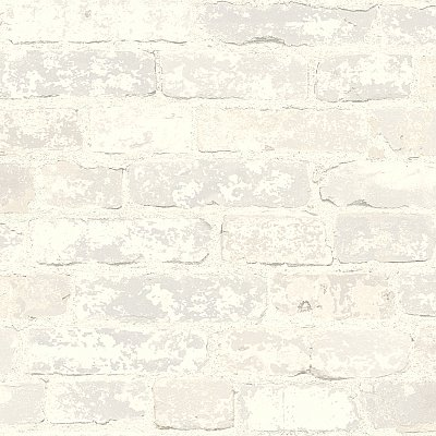 Stuccoed Brick Wallpaper