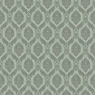 Peacock Damask Wallpaper