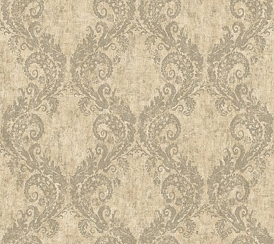 Batik Ogee Wallpaper