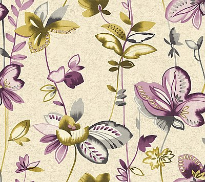 Whimsical Garden Wallpaper