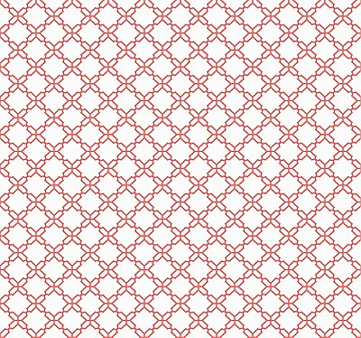 Geometric Trellis Wallpaper