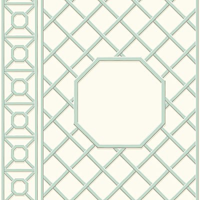 Garden Lattice Wallpaper