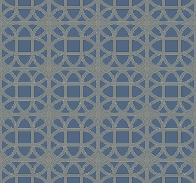 Lamerie Lattice Removable Wallpaper