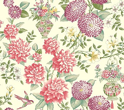 Lightfoot Garden Wallpaper