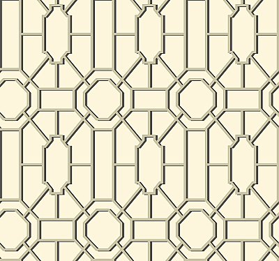 Dickinson Trellis Wallpaper