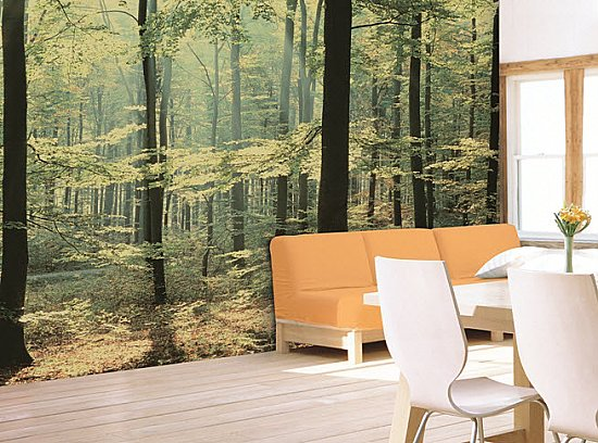 Enchanted Forest Mural 1833 DS8033 roomsetting